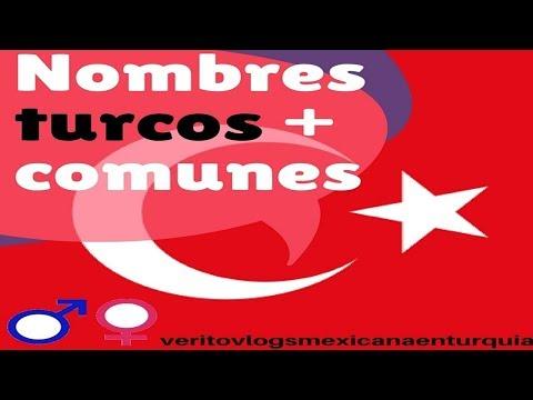 NOMBRES TURCOS MÁS COMUNES PARA HOMBRE Y MUJER // MEXICANA EN TURQUIA