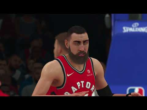 NBA 2K18 Toronto Raptors vs Los Angeles Clippers Gameplay  PS4
