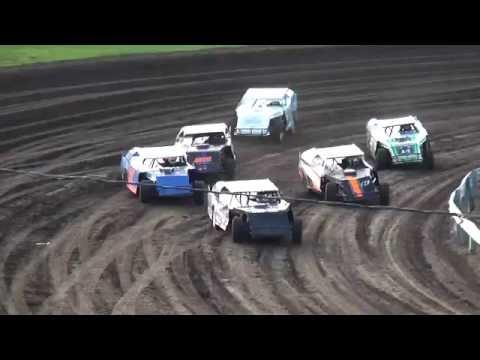 IMCA Sport Mod Heats Farley Speedway 7/15/16