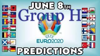 TURKEY VS FRANCE | ICELAND VS ALBANIA | MOLDOVA VS ANDORRA PREDICTIONS | EURO 2020 GROUP H
