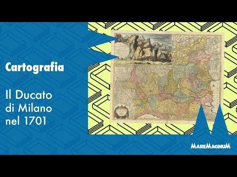 Cartografia - Il Ducato di Milano nel 1701