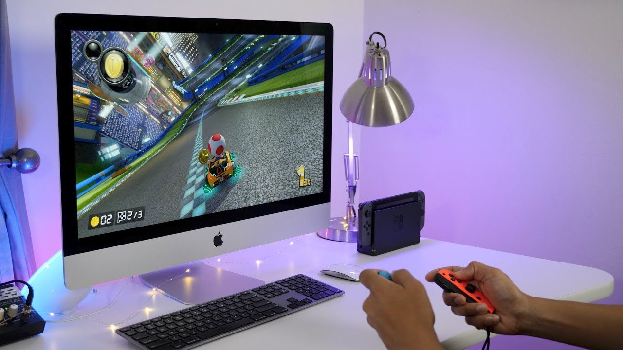 Imac Ordinateur How To Play Nintendo Switch On An Imac S Display