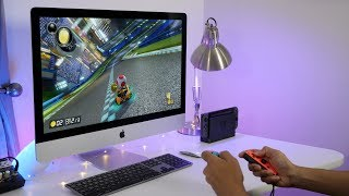 How to play Nintendo Switch on an iMac
