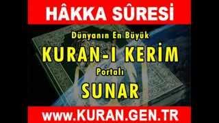 HAKKA Suresi - Kurani Kerim oku dinle video izle - Kuran.gen.tr