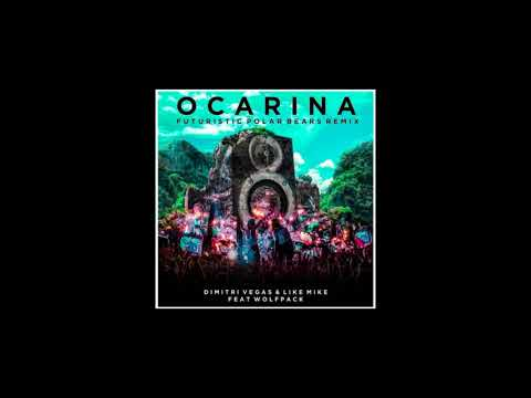 Dimitri Vegas, Like Mike & Wolfpack - Ocarina (Futuristic Polar Bears Remix)