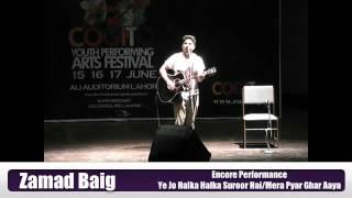 CYPAF - Zamad Baig - Encore Perfomance - Ye Jo Halka Halka Surroor Hai