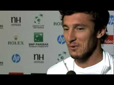 Official Davis Cup By BNP Paribas Interview - Juan Monaco (ARG)