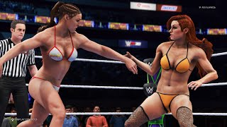 Ronda Rousey vs. Becky Lynch - WWE ...