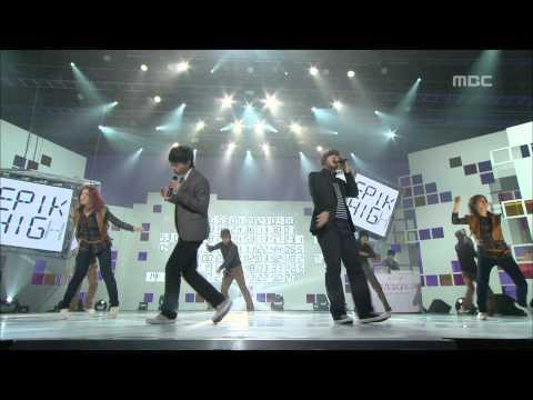 Epik High - 1 Minute 1 Second, 에픽하이 - 1분 1초, Music Core 20081025