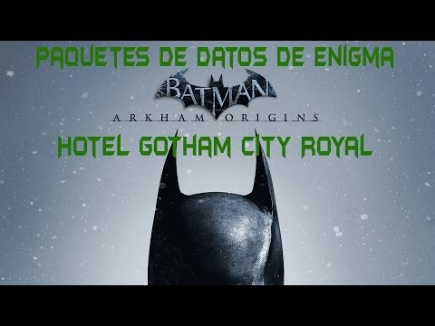 Batman : Arkham Origins - Paquetes de datos de Enigma en Hotel Gotham City Royal