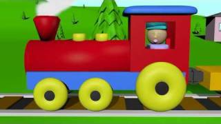 Cover images The Shape Train - Learning for Kids