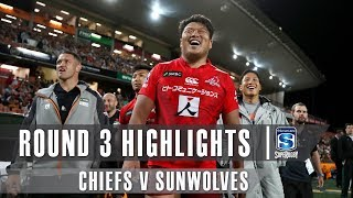 ROUND 3 HIGHLIGHTS: Chiefs v Sunwolves – 2019