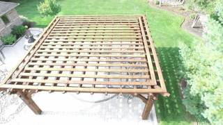 Timberkits Pergola Fly Over