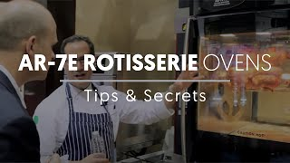 Alto-Shaam Rotisserie Oven Secrets(Corporate Chef Andy Mayeshiba shares some interesting facts about the AR-7E rotisserie, ventless hood, and companion holding cabinet., 2014-05-18T20:36:49.000Z)