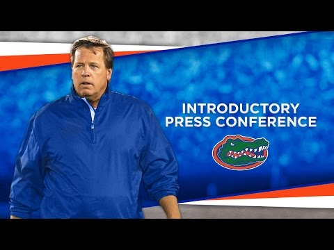 Jim McElwain Introductory Press Conference 12-6-14