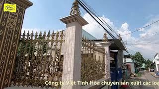 Cổng nhôm đúc Tây Ninh