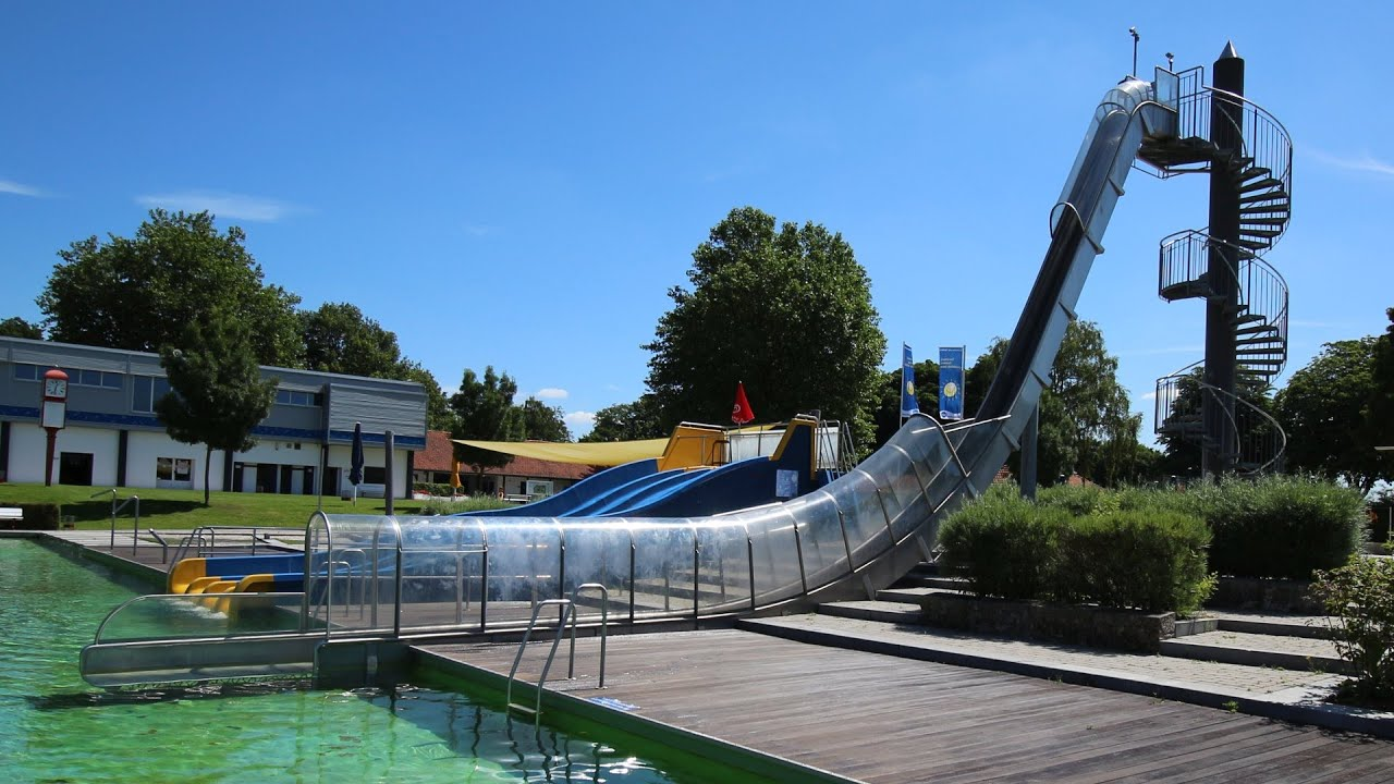 Freefall Speed-Slide | Stadionbad Bremen - YouTube