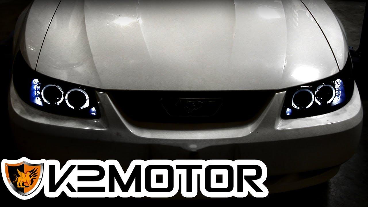 K2 MOTOR INSTALLATION VIDEO: 1999-2004 FORD MUSTANG LED ...