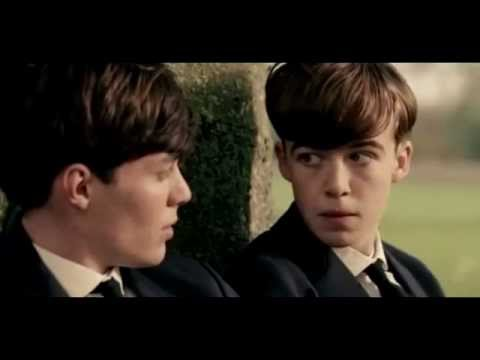 Alan Turing's early life scenes in The Imitation Game (2014)
