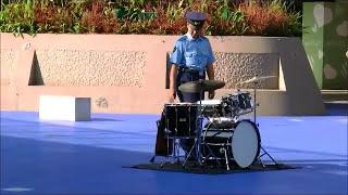 愛知県警察音楽隊フラッシュ・モブ「シング・シング・シング」