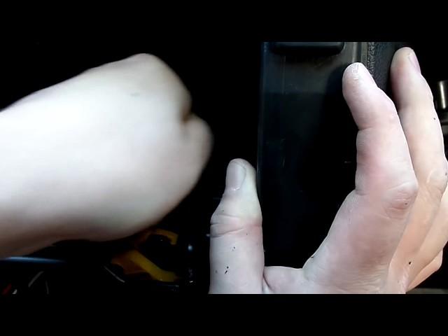 Установка 2 Дин магнитолы в Ладу гранту