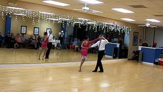 Salsa - Dance Performance at Blue Suede Ballroom Dance Studio - Memphis, TN