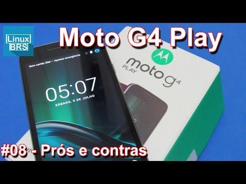 Lenovo Moto G4 Play - Prós e contras - Português
