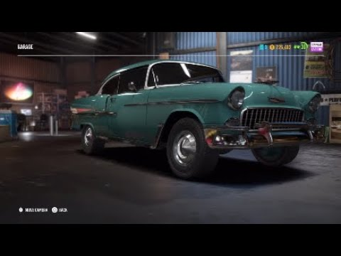 Need For Speed Payback Restoring The Chevrolet Bel Air 55 Youtube