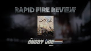 Anno 1800 Rapid Fire Review (Video Game Video Review)