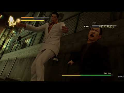 YAKUZA 0: vs Media King