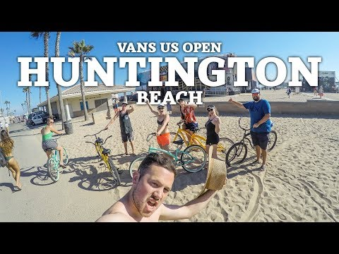 Vans US Open Of Surfing Huntington Beach, CA | The Journey