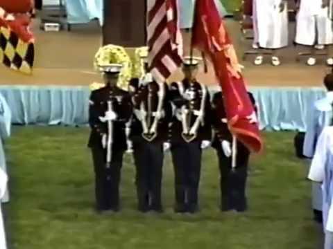 Chesapeake High School 1995 Graduation Memories (CHS-Pasadena) Part 1/8