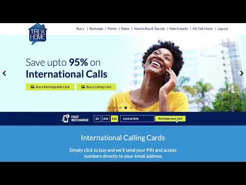 Purchasing Products Online | Talk Home Calling Cards