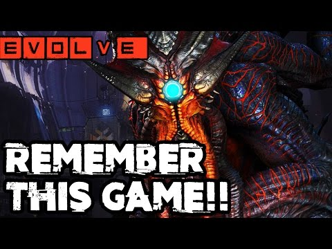 NOSTALGIA RAINBOWS!! Evolve Gameplay Walkthrough - Multiplayer (XB1 1080p HD)