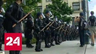 Расистский майдан в США: бурлит уже 50 городов