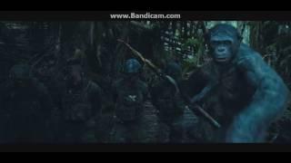 Фильм.Планета обезьян Война. 2 трейлер (2017)