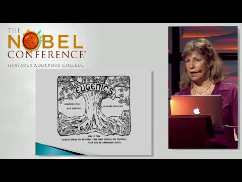 Marsha Saxton, PhD presenting at Nobel Conference 53