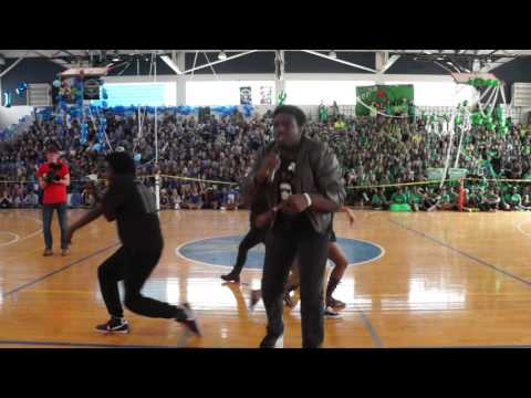 Dreyfoos Senior Pep Rally Sing 2016