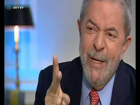 Cristina Esteves, RTP, entrevista o ex-presidente do Brasil, Luiz Inácio Lula da Silva