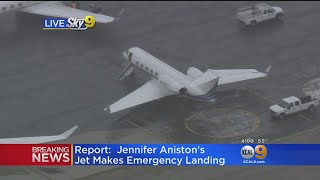 Report: Plane Carrying Jennifer Aniston, Courteney Cox Makes Emergency Landing