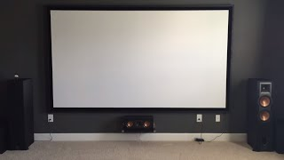 BenQ HT3050 and Brief Home Theater Tour