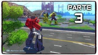 TRANSFORMERS: DEVASTATION Gameplay Español PC Parte 3 - 1080p HD 60fps