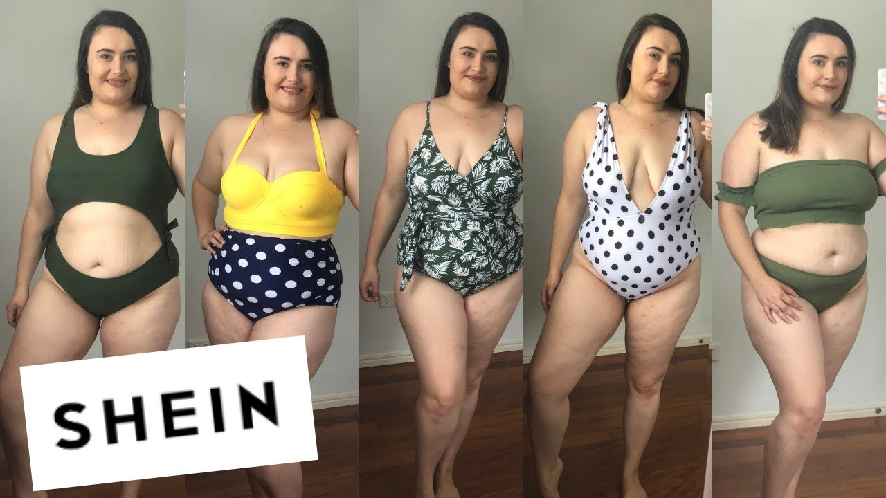 50e825a806 SHEIN SWIMSUIT PLUS SIZE TRY ON HAUL- $6 SWIMSUIT!!- HOT OR NOT ...