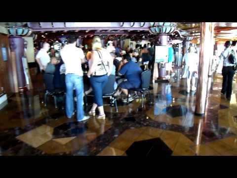 2009 Mexico Cruise stage casino atrium