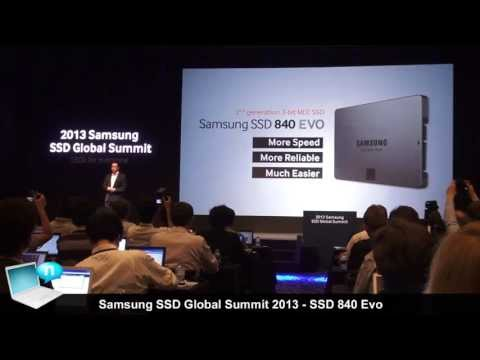 Samsung SSD 840 Evo - 2013 Samsung SSD Global Summit in Seoul