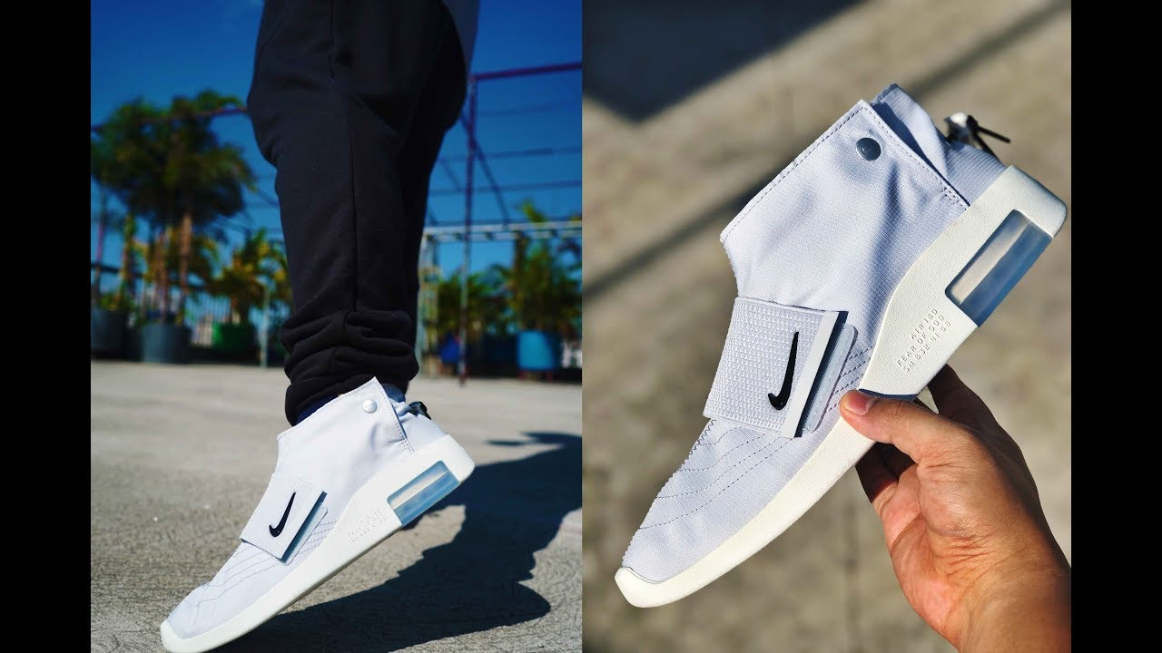 Nike Air FEAR OF GOD MOCCASIN // Review