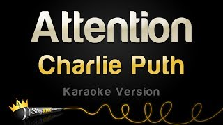 Charlie Puth - Attention (Karaoke Version)