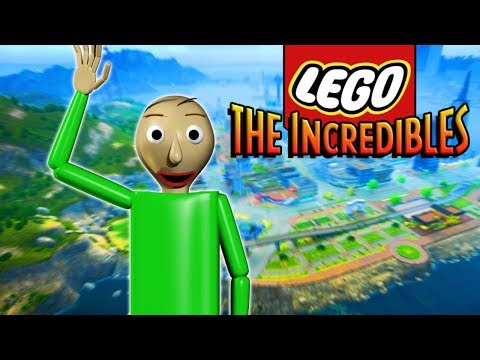 LEGO BALDI JOINS THE INCREDIBLES! - Lego The Incredibles Gameplay #23