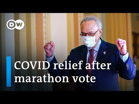 US Senate passes $1.9 trillion COVID relief bill along party lines | DW News