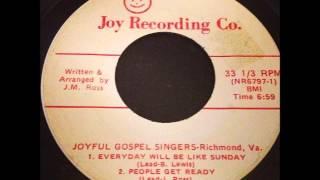joyful gospel singers -